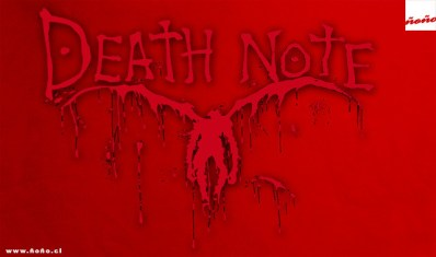 death-note-ñoño-silueta-ryuk-rojo