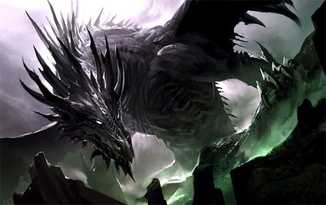 dinosaurios y dragones