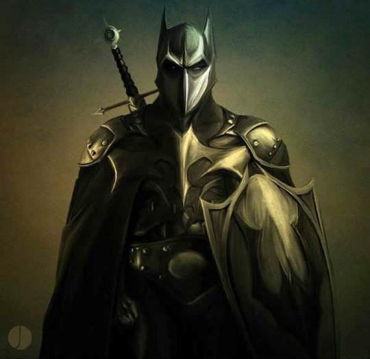 ilustracion-batman-caballero negro