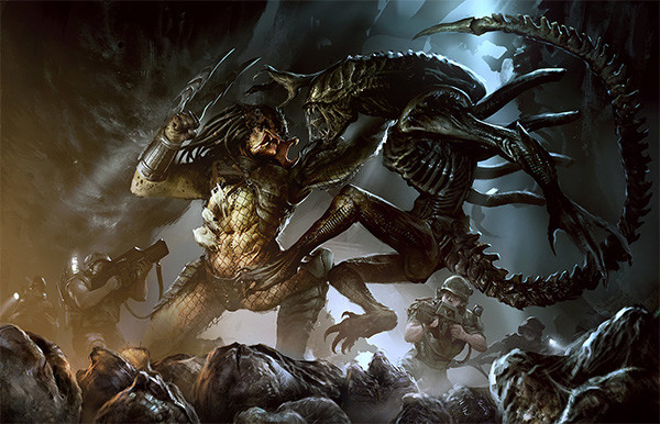 predator-alien-comandos-pelea
