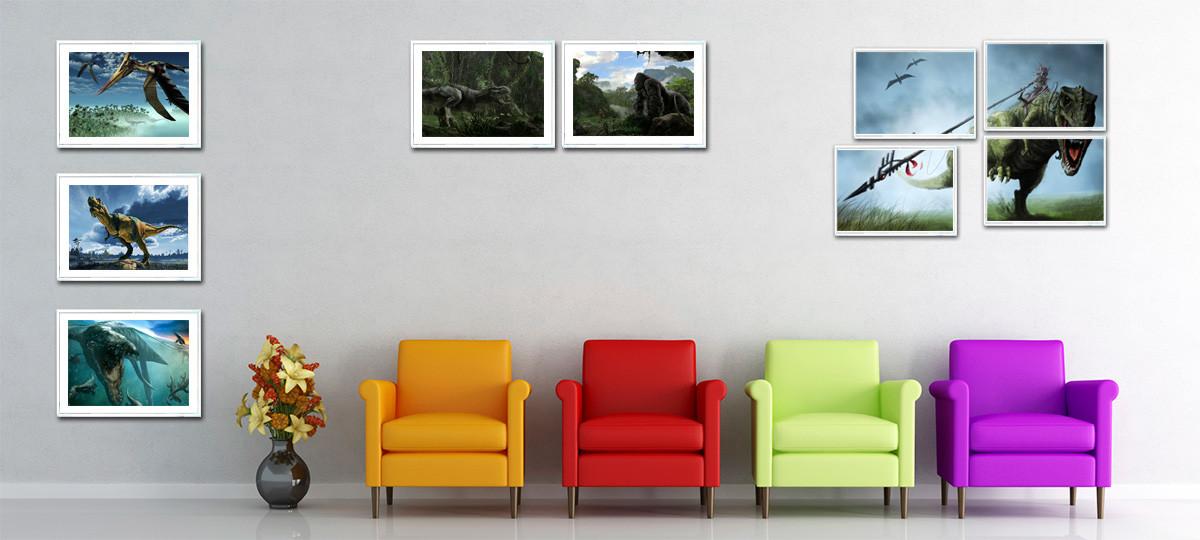 Marco fotográfico color roble. Borde de 3 cms - portal #Ñoño