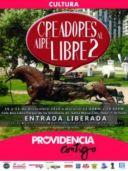 afiche del evento Creadores al Aire Libre