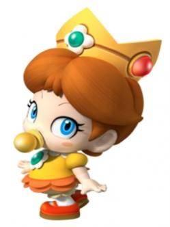 bebe-princesa-daisy-mario-bros-nintendo