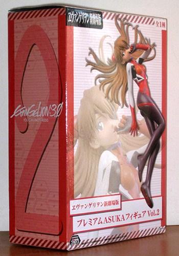 caja de figura de asuka