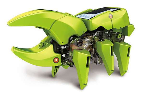 Robot solar transformable