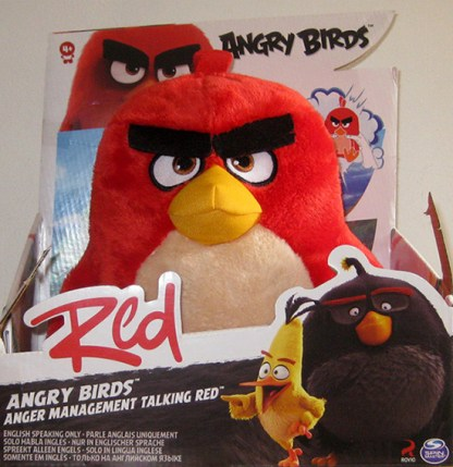 peluche Angry Birds