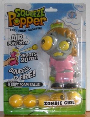 niña zombi