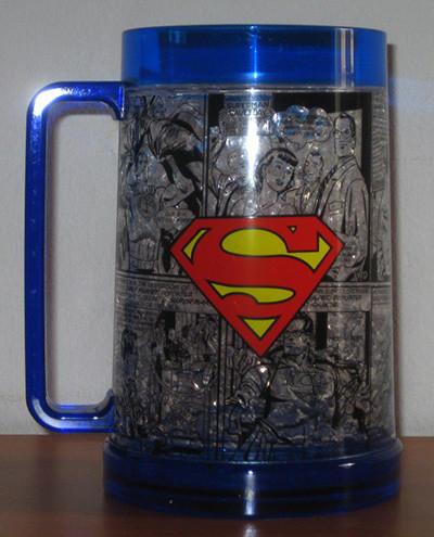 Vaso cerveza de Superman
