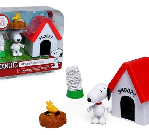 figuras de Snoopy y Woodstock