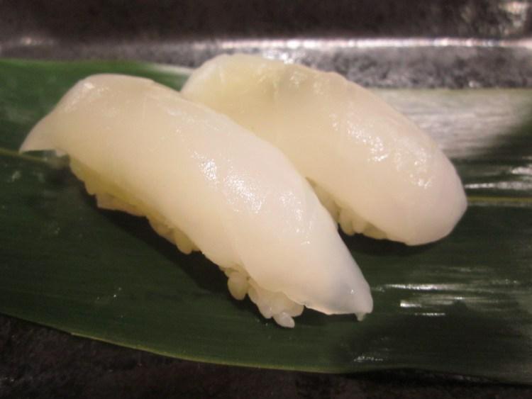 寿司アオリイカ