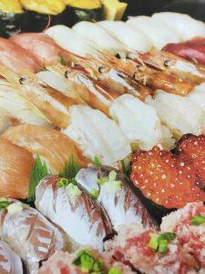 とびうおの寿司です。