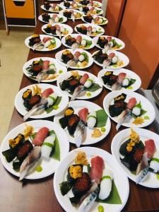 寿司33名様分
