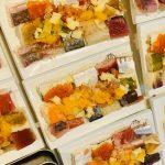 出張寿司とびうお 秋の新メニュー 12種類の押し寿司4種のシャリと6種のジュレ 横浜市