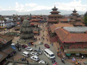 カトマンドゥ盆地(ネパール)