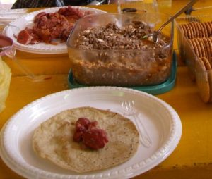 おいしいメキシコ料理 トルティーヤ