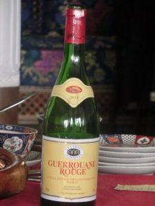 モロッコのおいしい飲み物 メクネスワイン