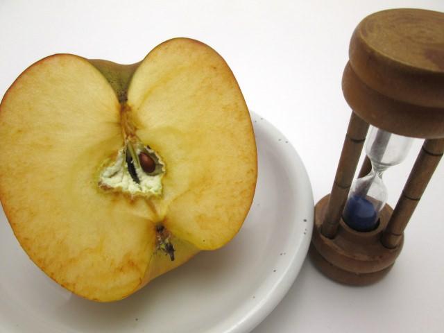 りんご 変色