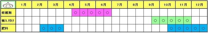 ninniku Schedule