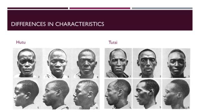 Diferencias hutu tutsi