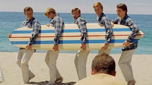 músicos en el cine beach boys