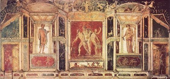 pompeya-pintura-películas