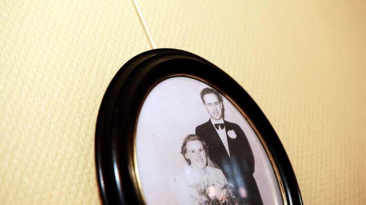 min mormor og morfar brylllup