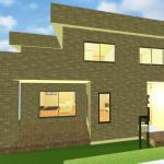木造 陸屋根 構造画像