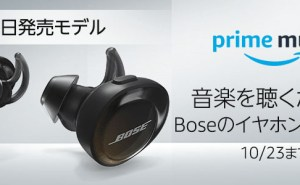 Bose SoundSport Free wireless headphones 完全ワイヤレスイヤホン