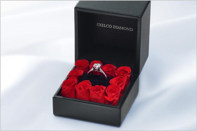 エクセルコダイヤモンドのローズボックス