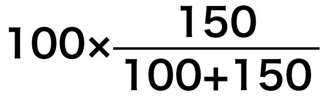溶質の質量例題