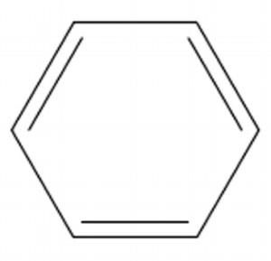 ベンゼン環 簡易構造式
