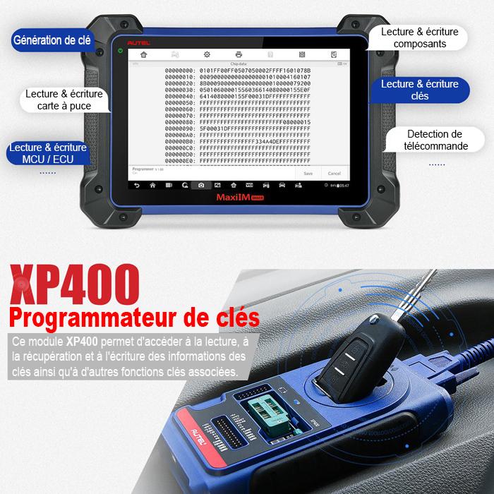 AUTEL XP400 programmateur de clés universel