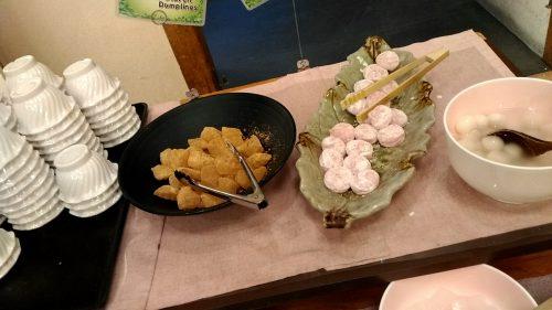 江戸温泉、デザート,和