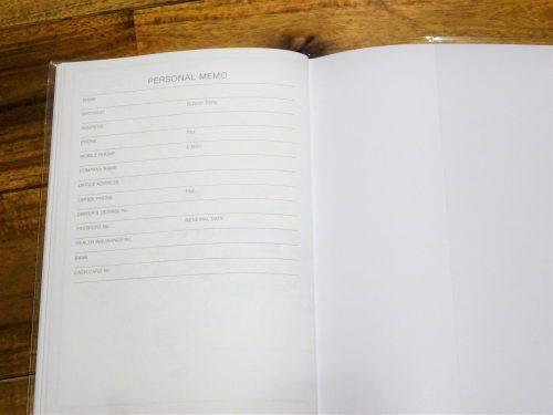 手帳,100均,ダイソー