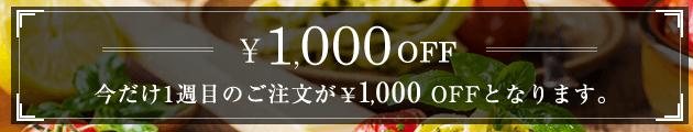 ナッシュクーポン1000円