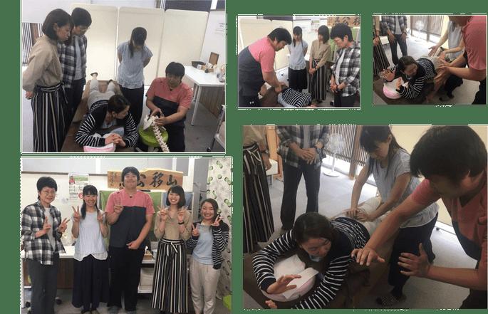 全国の女の先生に骨盤矯正を教えている中田先生