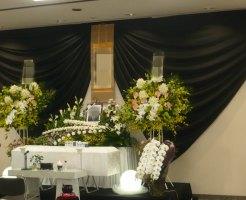 瓜破斎場 葬儀例7