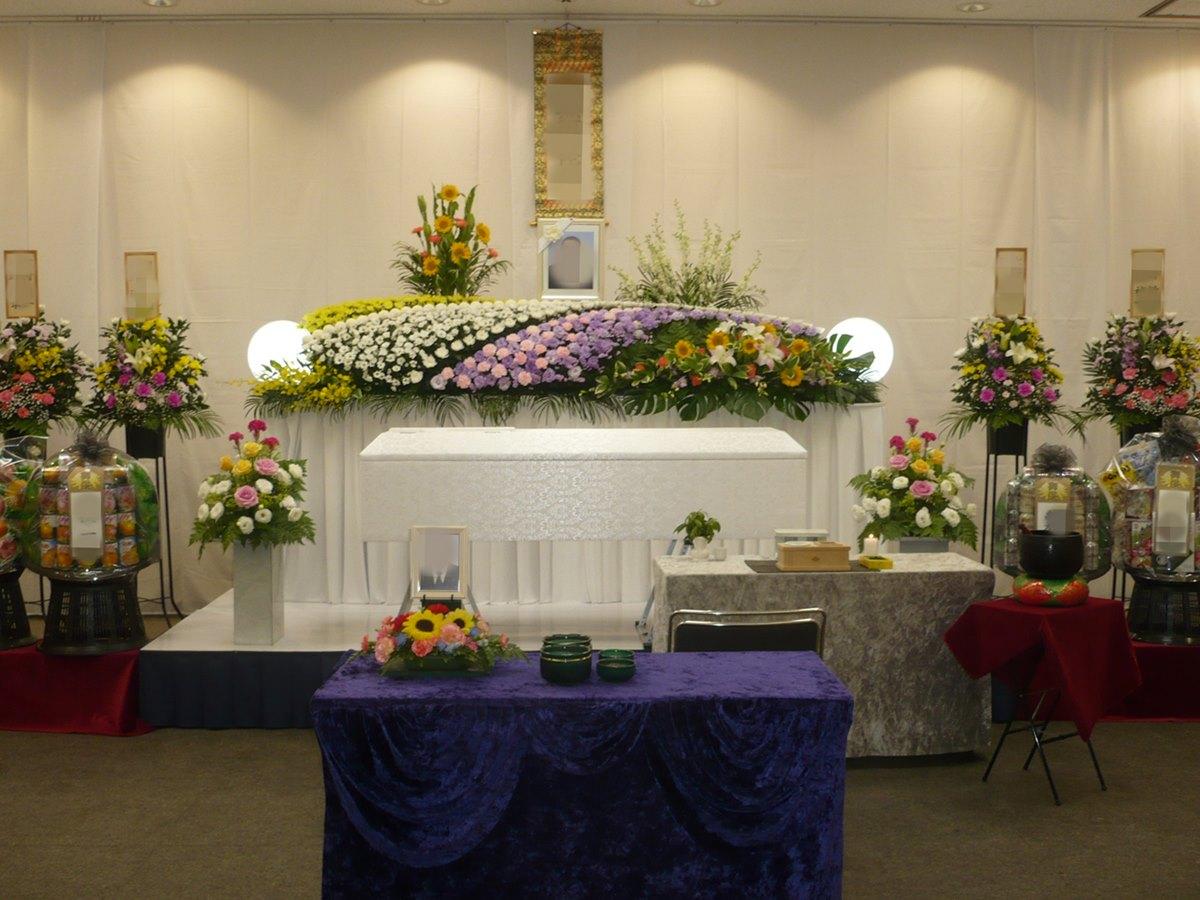 瓜破斎場 葬儀例8