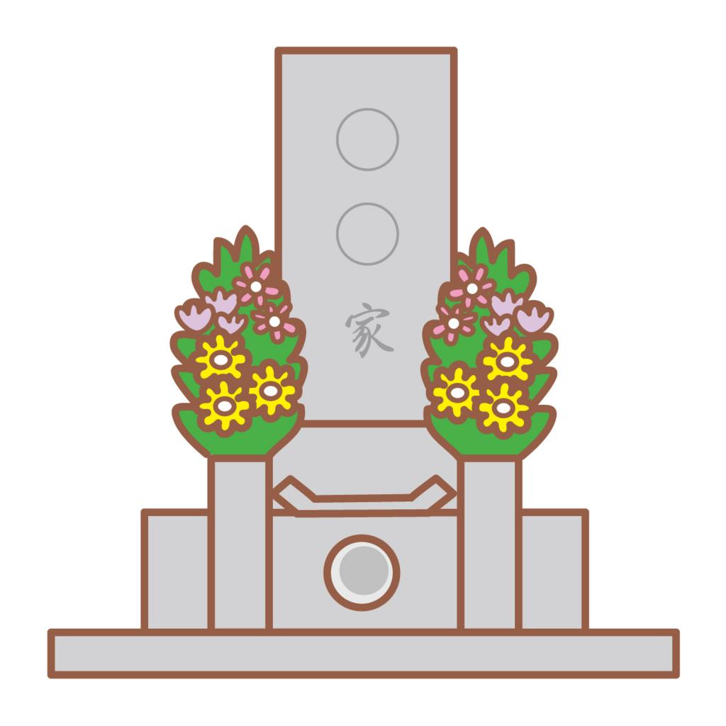 従来のお墓