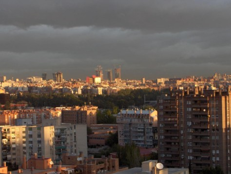 Las cuatro torres más altas de Madrid