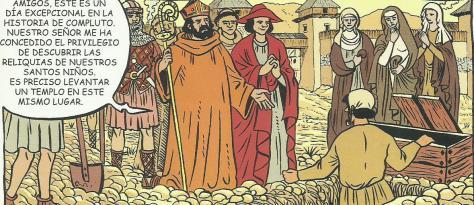 Santos Justo y Pastor ppatronos de Alcalá de Henares