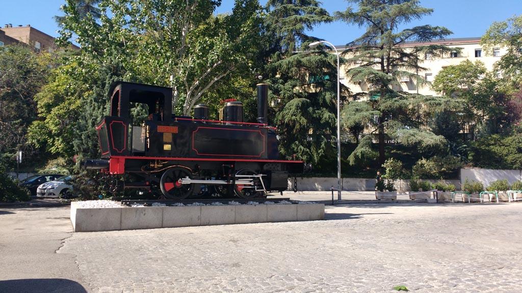 Museo del Ferrocarril del Paseo de las Delicias