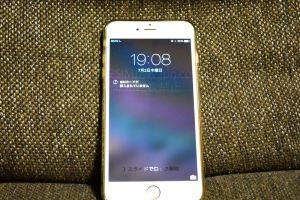 iPhone6 SIMカードが挿入されていません