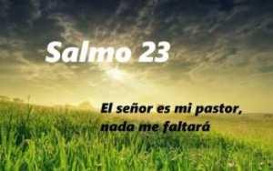 soñar con el salmo 23