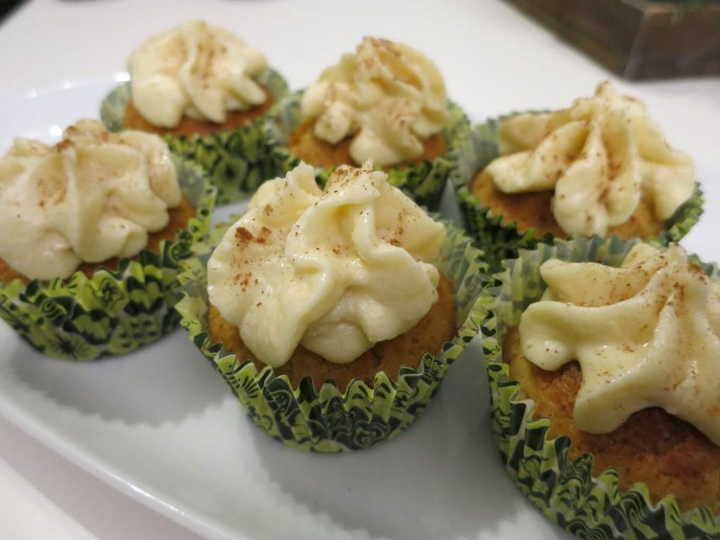 Honig Lebkuchen Cupcakes