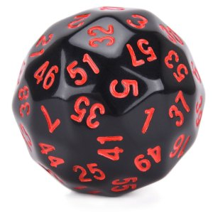 D60 Red Numbers