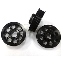 precise-cnc-lathing-hardened-aluinum-pulley-holed-pulley-grooved-aluminum-pulley-oem