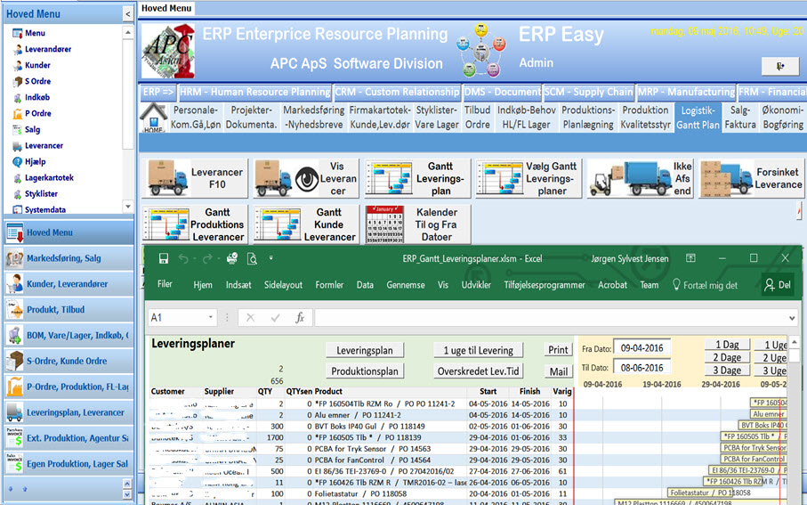 ERP Enterprice Resource Planning - ERP Easy