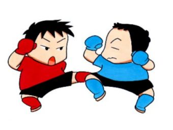総合格闘技の構え方