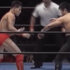 第11戦目プロレス  Uインター 1991年8月24日 静岡産業館  田村潔司vs宮戸成夫
